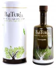 Azeite virgem extra Carrasqueña Baeturia + caixa