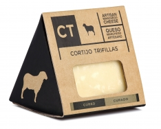 Quarto de queijo Manchego curado da CT