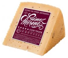 Cuña de queso de oveja con trufa Gómez Moreno