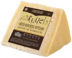 Pedaço de queijo Manchego D.O. Semicurado médio Carpuela