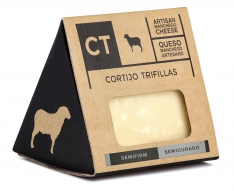 Quarto de queijo Manchego semi-curado da CT