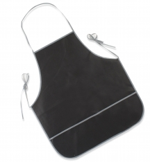 Avental Steelblade de cor preta