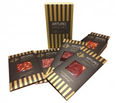 Enchidos variados Ibérico de Arturo Sánchez - caixa premium