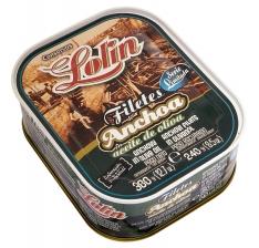 Filete de anchova em azeite série limitada da Lolin