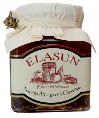Doce Natural de laranja amarga e chocolate da Elasun