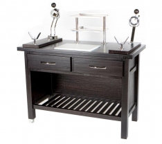 Mesa de corte 600X1200 + 2 suporte de presunto + duplo tabuleiro