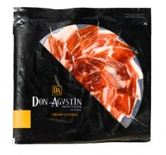 Prato de presunto ibérico de bolota fatiado à mão da Don Agustín
