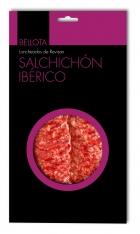 Salsichão de bolota fatiado ibérico da Revisan Ibéricos