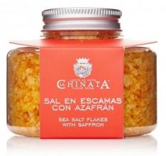 Sal em escamas com açafrão da La Chinata