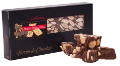 Nougat torrão de Chocolate da Turrones Primitivo