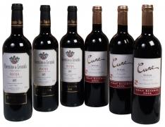 Vinhos D.O. Ca Rioja especial de Natal