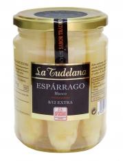 Pontas de espargo branco D.O. Navarra de La Tudelana