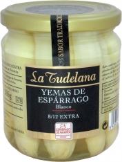 Pontas de espargo branco D.O. Navarra da La Tudelana